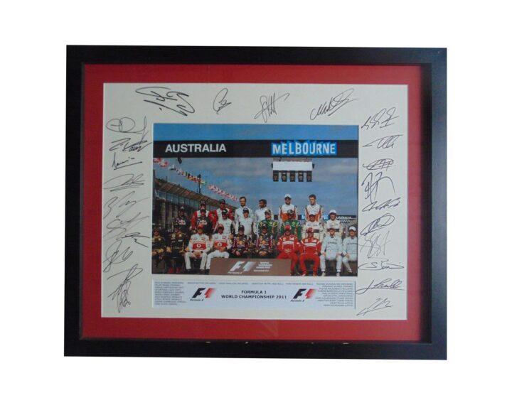 Formula 1 Signed Photo