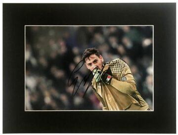 Gianluigi Donnarumma Signature - Signed AC Milan Display - Firma Stella