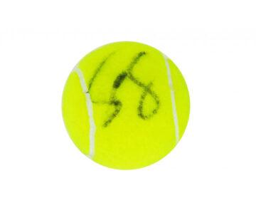 Grigor Dimitrov Signed Tennis Ball, Wimbledon - Firma Stella