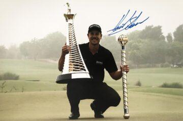 Henrik Stenson Signature, Signed Golf Photo - Firma Stella