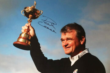 Paul Lawrie Signed Photo, Ryder Cup - Medinah - Firma Stella
