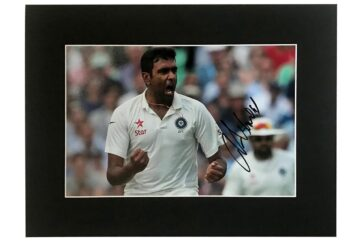 Ravichandran Ashwin Signed Photo