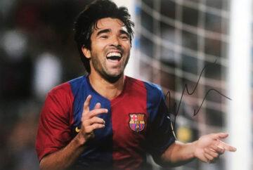Signed Deco Photograph - FC Barcelona