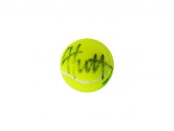 Signed Lleyton Hewitt Tennis Ball