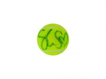 Signed Sloane Stephens Wimbledon Tennis Ball