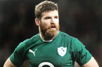 Gordon D'Arcy Signed Photograph - Ireland Rugby - Firma Stella