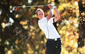 Luke Donald Signed Photo, Genuine Golf Signature - Firma Stella