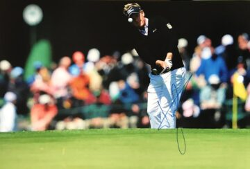 Luke Donald Signed Photo, Golf Action Shot - Firma Stella