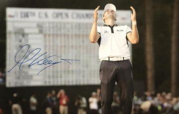 Martin Kaymer Signature, Iconic - US Open Signed Photo - Firma Stella
