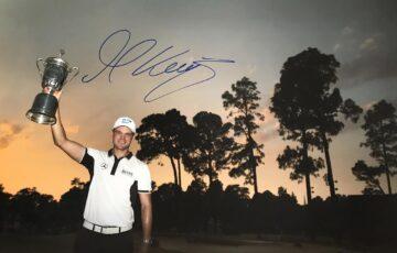 Martin Kaymer Signed US Open Champion Photo - Firma Stella