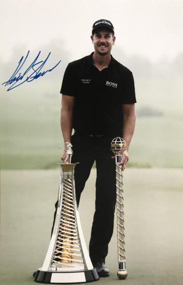 Signed Henrik Stenson Photo , Sweden - Golf Icon - Firma Stella