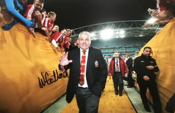 Warren Gatland Signed Photo, Lions Rugby - Iconic Coach - Firma Stella