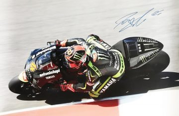 Andrea Dovizioso Signature - Genuinely Signed Moto Grand Prix Poster