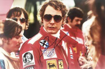 Autographed Daniel Bruhl Poster Photo - Formula 1 Autograph