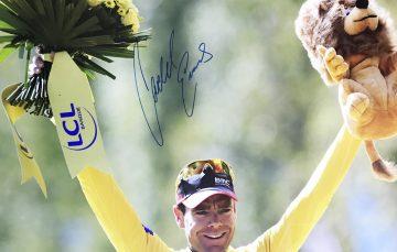 Cadel Evans Signature Authentic - Tour de France Autograph