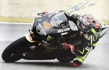 Signed Andrea Dovizioso Poster - Authentic Moto GP Autograph