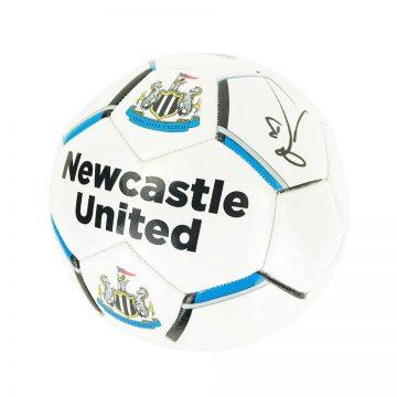 Signed Yoshinori Muto Football - Newcastle United Autograph