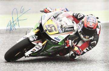 Stefan Bradl Signature - Signed Moto Grand Prix Poster