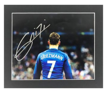 Signed Antoine Griezmann Photo Display