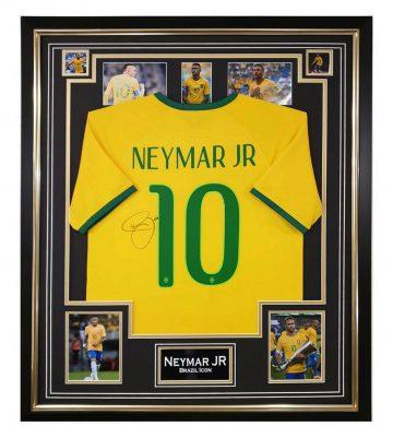 Signed Neymar Jr Jersey