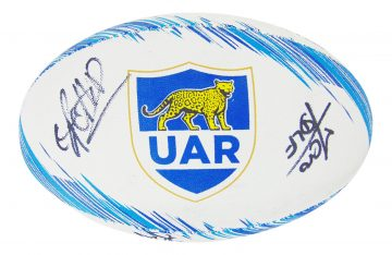 Signed Argentina Rugby Ball