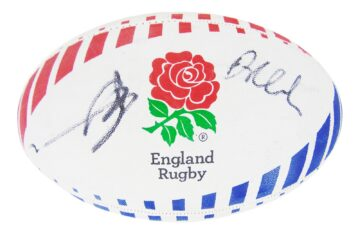 Signed England Rugby Ball