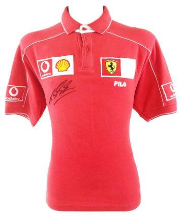 Signed Michael Schumacher