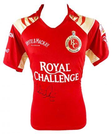 Signed Virat Kohli Shirt