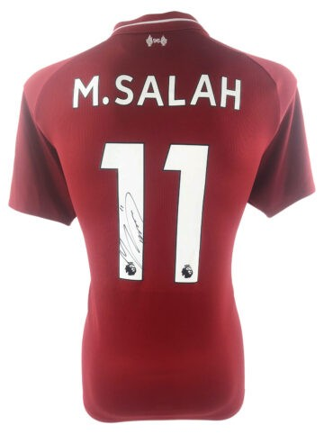 Signed Mo Salah Jersey