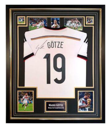 Autographed Mario Gotze Jersey
