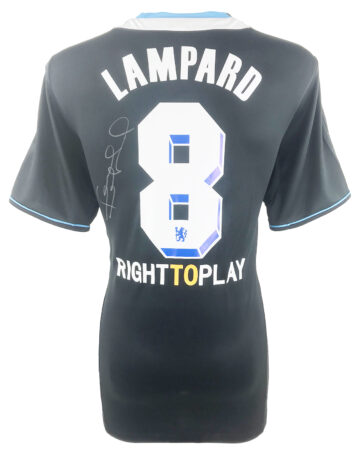 Signed Frank Lampard Shirt