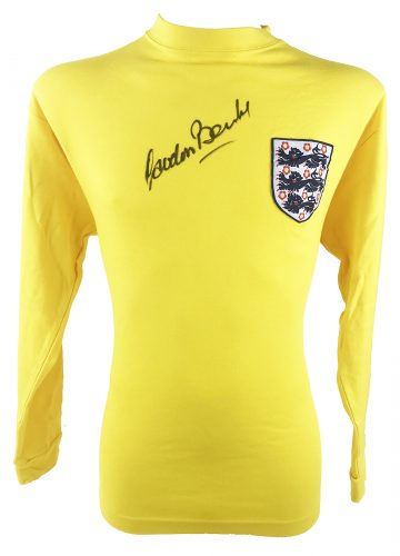Signed Gordon Banks Jersey