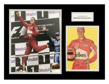 Signed Michael Schumacher Photo