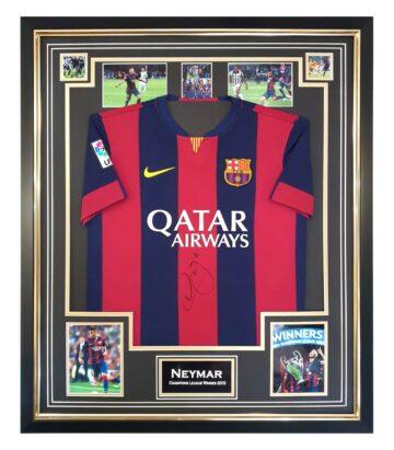 Signed Neymar Jersey