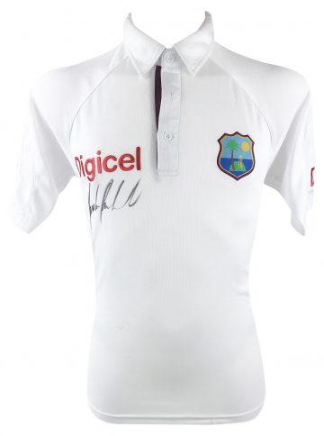 Signed Richie Richardson Shirt