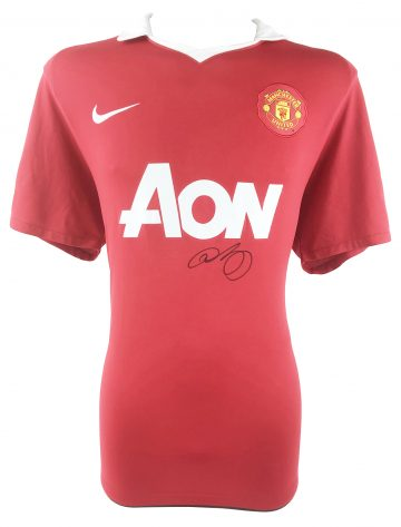Signed Ryan Giggs Shirt