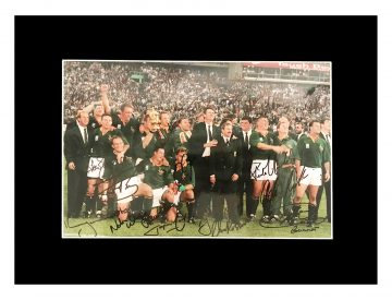 Signed South Africa Photo