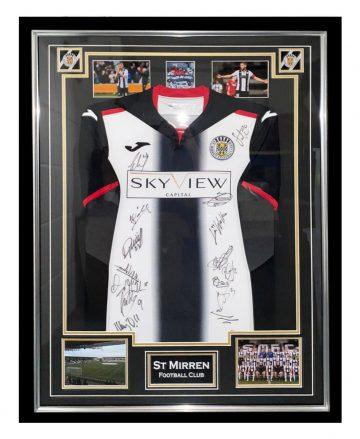 Signed St Mirren Jersey