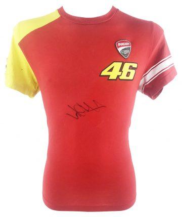 Signed Valentino Rossi Shirt