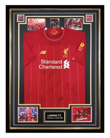 Autographed Liverpool FC Jersey