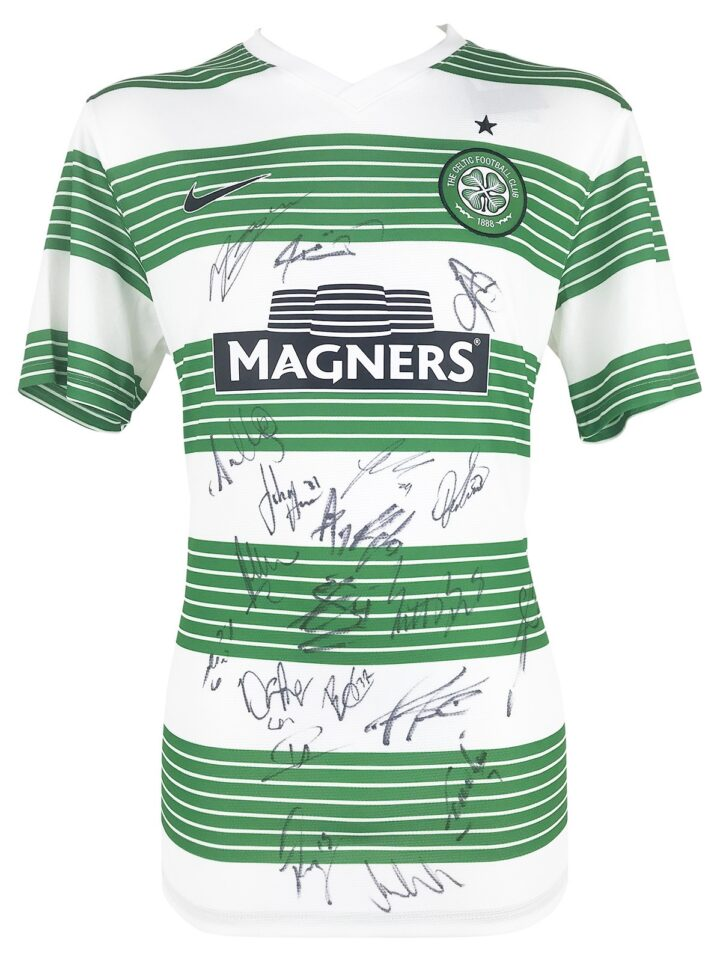 Signed Celtic Football Shirt