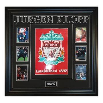 Signed Jurgen Klopp Framed Display