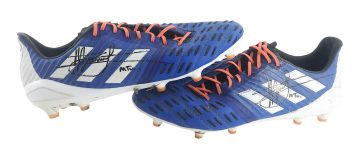 Signed Manu Tuilagi Match Worn Boots